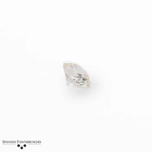 Loose round brilliant cut Diamond of 1.2 carats on GIA certificate k in colour and SI2 in clarity