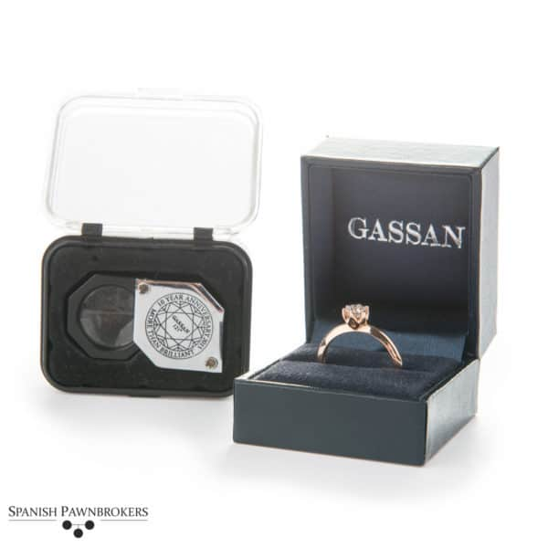 Gassan Diamond Solitaire 0.3 ct I SI1