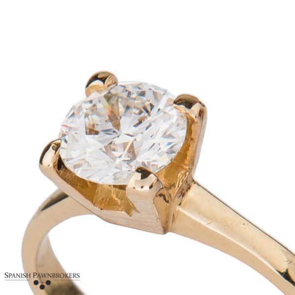 Diamond Solitaire Ring 1.12ct G SI1