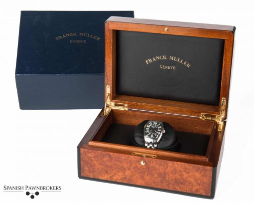 Second hand luxury watch Franck Muller 6850 Black dial with box