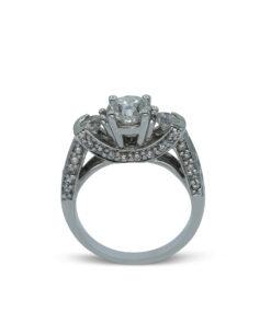 Ladies Diamond Trilogy Ring   Ring Trilogía de Caballero