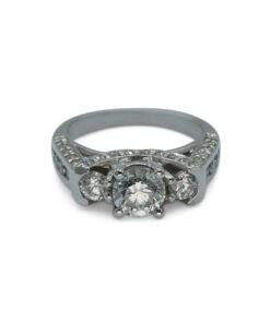 Ladies Diamond Trilogy Ring | Ring Trilogía de Caballero