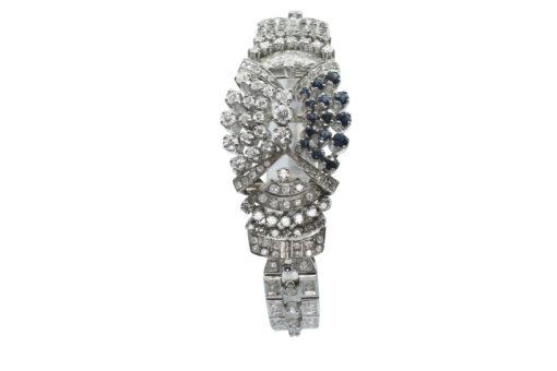 White Gold Diamond and Sapphire bracelet