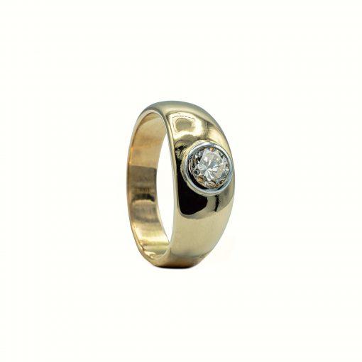 Gents Diamond pinky ring - Meñique de diamante