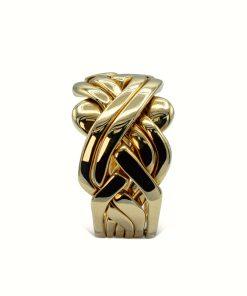 6 band puzzle ring – Anillo de puzle de 6 aros